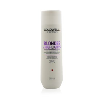 Dual Senses Blondes & Highlights Anti-Yellow Shampoo (Luminosity For Blonde Hair)  250ml/8.4oz