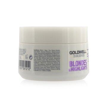 Dual Senses Blondes & Highlights 60Sec Treatment (Luminosity For Blonde Hair)  200ml/6.8oz