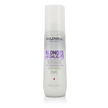 Goldwell Dual Senses Blondes & Highlights Brilliance Serum Spray (Luminosity For Blonde Hair)  150ml/5oz