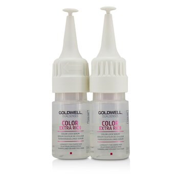 Dual Senses Color Extra Rich Color Lock Serum (Luminosity For Coarse Hair)  12x18ml/0.6oz