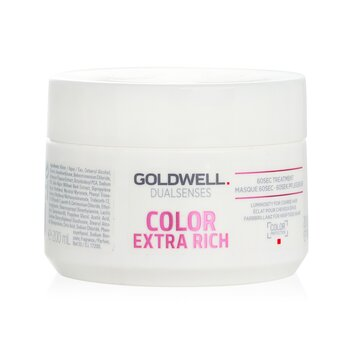 Goldwell Dual Senses Color Extra Rich 60Sec Treatment (Luminosity For Coarse Hair)  200ml/6.7oz