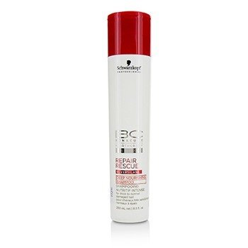 BC Repair Rescue Reversilane Deep Nourishing Shampoo (For Thick to Normal Damaged Hair)  250ml/8.5oz