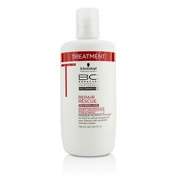 BC Repair Rescue Reversilane Deep Nourishing Treatment (For Thick to Normal Damaged Hair)  750ml/25.5oz