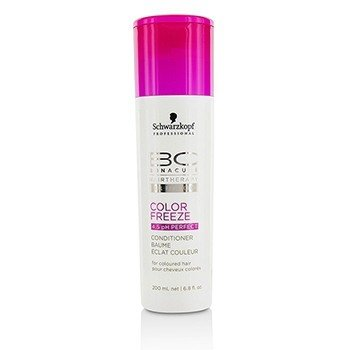 Schwarzkopf BC Color Freeze pH 4.5 Perfect Conditioner (For Coloured Hair)  200ml/6.8oz