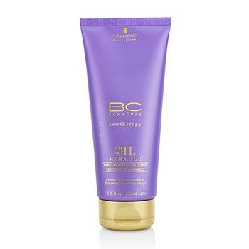 BC Oil Miracle Barbary Fig Oil & Keratin Restorative Shampoo (For Very Dry and Brittle Hair)  200ml/6.75oz