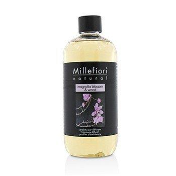 Millefiori معطر جو طبيعي (عبوة احتياطية) - زهر المغنوليا والخشب  500ml/16.9oz