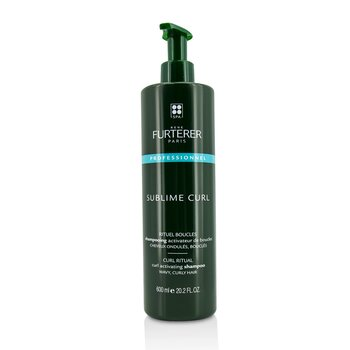 Sublime Curl Curl Activating Shampoo - Wavy, Curly Hair (Salon Product) 600ml/20.29oz