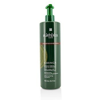 Rene Furterer Karinga Ultra Hydrating Shampoo - Frizzy, Curly or Straightened Hair (Salon Product)  600ml/20.2oz