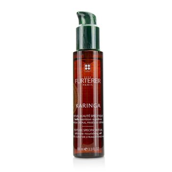 Rene Furterer Karinga Ultimate Nourishing Oil  (Frizzy, Curly or Straightened Hair)  100ml/3.38oz
