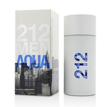 Carolina Herrera 212 Aqua Eau De Toilette Spray (Limited Edition)  100ml/3.4oz