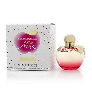 ניקול ריצי Les Gourmandises De Nina Eau De Toilette Spray (Limited Edition)  50ml/1.7oz