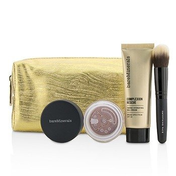 BareMinerals Take Me With You Complexion Rescue Try Me Set - # 05 Natural  3pcs+1bag