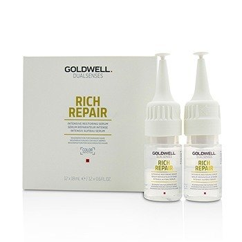 Dual Senses Rich Repair Intensive Restoring Serum (Regeneration For Damaged Hair)  12x18ml/0.6oz