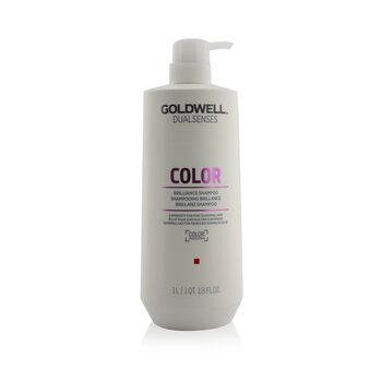 Goldwell Dual Senses Color Brilliance Champú  (Luminosidad Para Cabello Fino a Normal)  1000ml/33.8oz