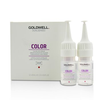 Dual Senses Color Color Lock Serum (Luminosity For Fine to Normal Hair)  12x18ml/0.6oz