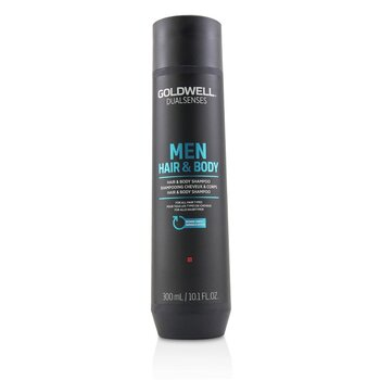 Dual Senses Men Hair & Body Shampoo (For All Hair Types)  300ml/10.1oz