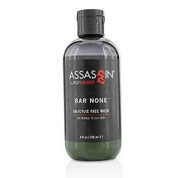 Billy Jealousy Assassin Bar None Salicylic Face Wash  236ml/8oz