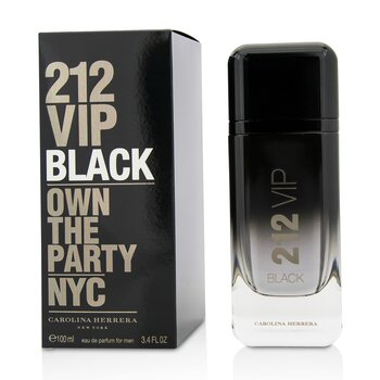 212 VIP Black Eau De Parfum Spray  100ml/3.4oz