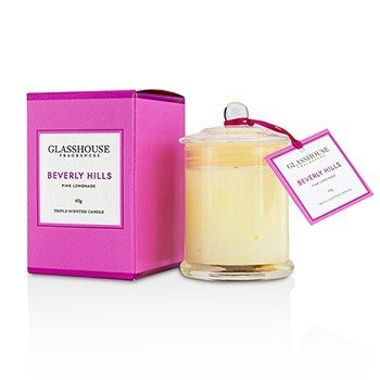 Triple Scented Candle - Beverly Hills (Pink Lemonade)  60g