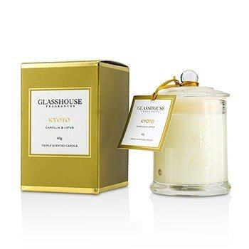 Triple Scented Candle - Kyoto (Camellia & Lotus)  60g