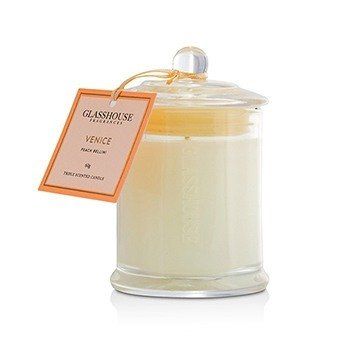 Triple Scented Candle - Venice (Peach Bellini) 60g