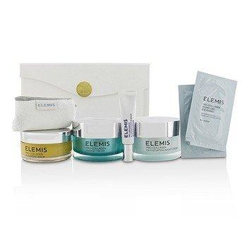 Marine Dream Coffret: Cleansing Balm + Eye Balm + Marine Cream + Night Cream + Eye Masks + Towel  6pcs