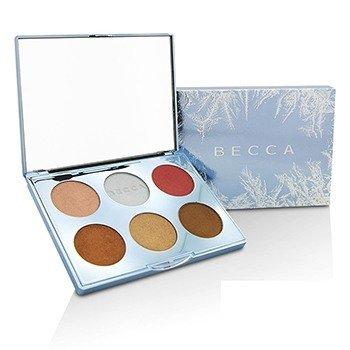 Becca Apres Ski Glow Collection Face Palette  15.5g/0.54oz
