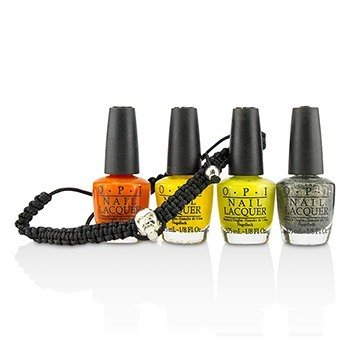Rock Goddess Mini Nail Lacquer Set  5pcs