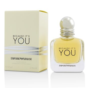 Emporio Armani Because It's You Eau De Parfum Spray  50ml/1.7oz