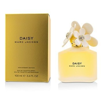 Marc Jacobs Daisy Eau De Toilette Spray (White 10 Anniversary Limited Edition)  100ml/3.4oz