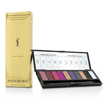 圣罗兰  Couture Variation Collector 10 Colour Lip & Eye Palette - # 5 Nothing Is Forbidden  5g/0.17oz