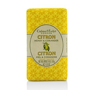 Crabtree & Evelyn Citron, Honey & Coriander Triple Milled Soap  158g/5.57oz
