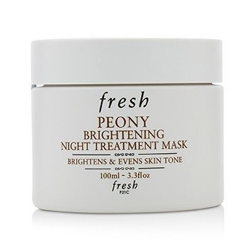 Peony Brightening Night Treatment Mask  100ml/3.3oz