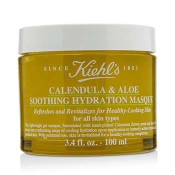 Calendula & Aloe Soothing Hydration Masque - For All Skin Types  100ml/3.4oz