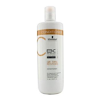 שוורצקופף BC Time Restore Q10 Plus Conditioner - קונדישינר אנטי-אייג׳ינג לשיער בוגר ושברירי (באריזה חדשה)  1000ml/33.8oz