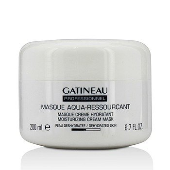 Aquamemory Masque Aqua-Ressourcant Moisturizing Cream Mask - For dehydrert hud (Salongstørrelse)  200ml/6.7oz