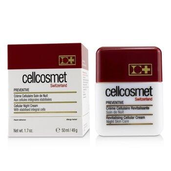 Cellcosmet Preventive Cellular Night Cream  50ml/1.7oz