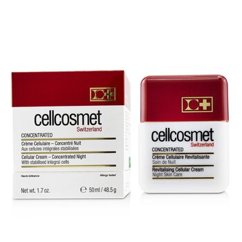 Cellcosmet Concentrated Cellular Night Cream Treatment  50ml/1.7oz