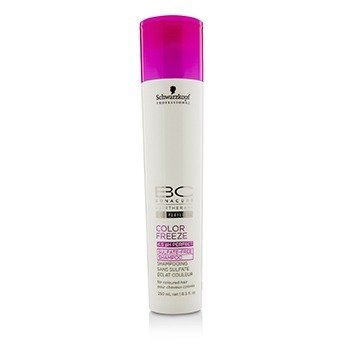 BC Color Freeze pH 4.5 Sulfate-Free Shampoo (For Coloured Hair)  250ml/8.5oz