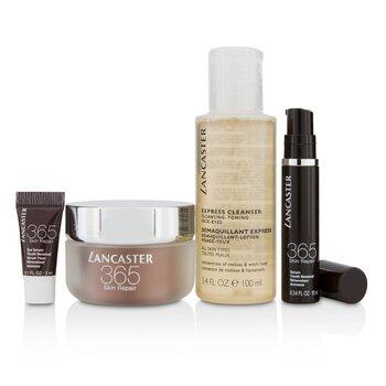 365 Skin Repair Set: Youth Renewal Day Cream 50ml+ Serum Youth Renewal 10ml+ Eye Serum 3ml+ Express Cleanser 100ml  4pcs