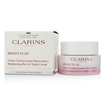克蘭詩 Bright Plus Brightening Revive Night Cream  50ml/1.7oz