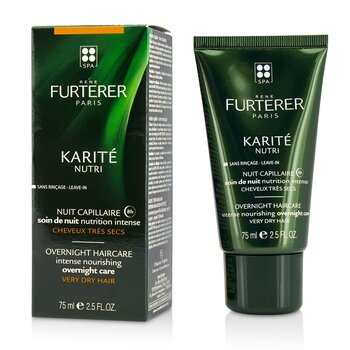 Karite Nutri Intense Nourishing Overnight Care (Very Dry Hair)  75ml/2.5oz