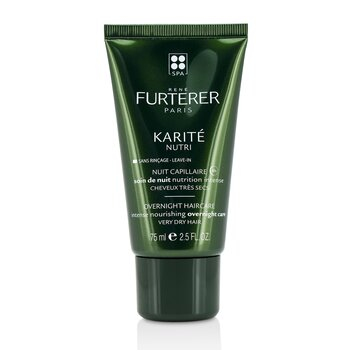 Karite Nutri Overnight Haircare Intense Nourishing Overnight Care (Very Dry Hair)  75ml/2.5oz