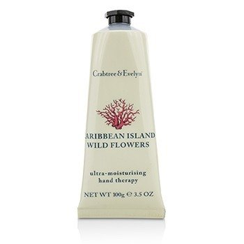 Crabtree & Evelyn Caribbean Island Wild Flowers Ultra-Moisturising Hand Therapy (Unboxed)  100g/3.5oz