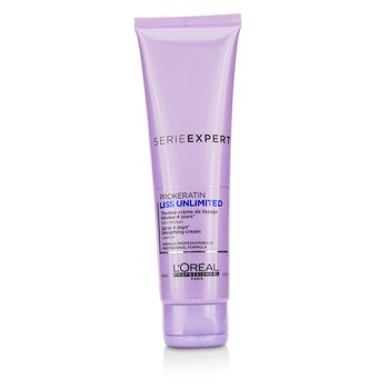 Professionnel Serie Expert - Liss Unlimited Prokeratin Up to 4 days* Smoothing Cream - Leave In 150ml/5.1oz
