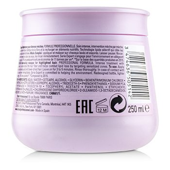 Professionnel Serie Expert - Lumino Contrast Illuminating Masque (For Highlighted Hair - Rinse Out)  250ml/8.4oz
