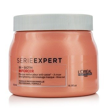 Professionnel Serie Expert - Inforcer B6 + Biotin Strengthening Anti-Breakage Masque  500ml/16.9oz