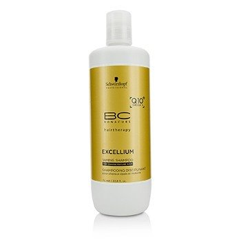 BC Excellium Q10+ Omega 3 Taming Shampoo (For Coarse Mature Hair)  1000ml/33.8oz