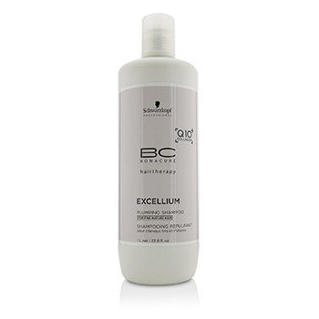Schwarzkopf BC Excellium Q10+ Collagen Plumping Shampoo (For Fine Mature Hair)  1000ml/33.8oz