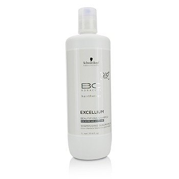 Schwarzkopf Szampon do włosów BC Excellium Q10+ Pearl Beautifying Shampoo (For Silver and White Hair)  1000ml/33.8oz